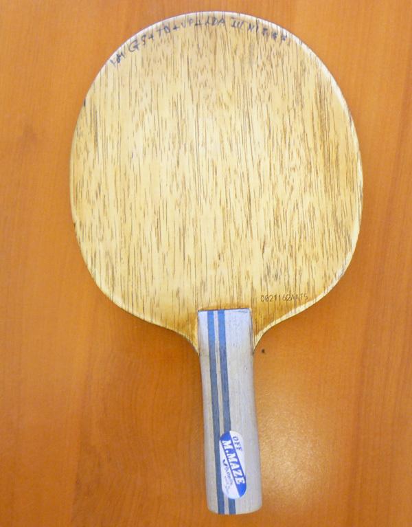 Bois préparé par Michel Detrigne  Bois  Tennis de Tablecom